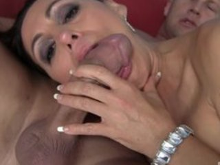 completely bald large titty milf raquel is hungry