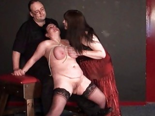 andreas mature lesbian bdsm and whipping to tears