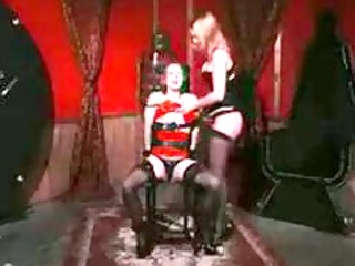 nylons and flogging