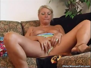 granny irena gives her old fur pie a nice fuck