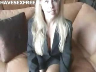 blonde breasty wife acquire home fucking and