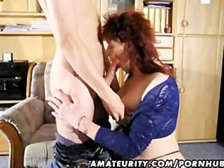 amateur redhead mother i sucks and fucks a