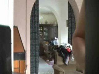 hidden web camera caught mummy fully stripped