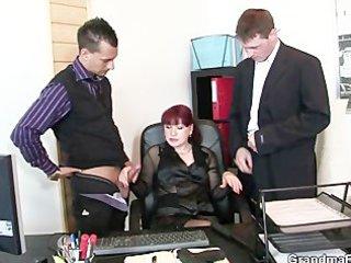 older office whore enjoys ramrods