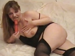 fantastic mother i floozy toys her cunny in black