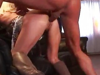 mother i pierced blond in boots getting fucked