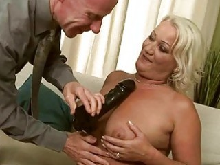 naughty granny getting anal screwed