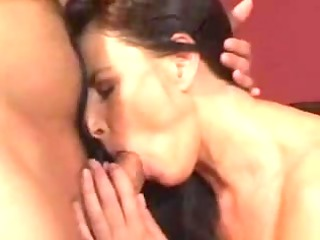 hot aged mommy drilled on family sofa - rayra