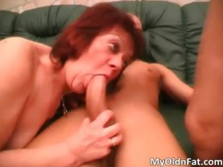 wicked redhead milf overweight whore engulfing