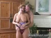Fine ass hot mom licking fat cock