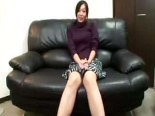 sexually excited asian mature is teasing camera