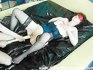 lascivious housewife drilled with a baseball bat
